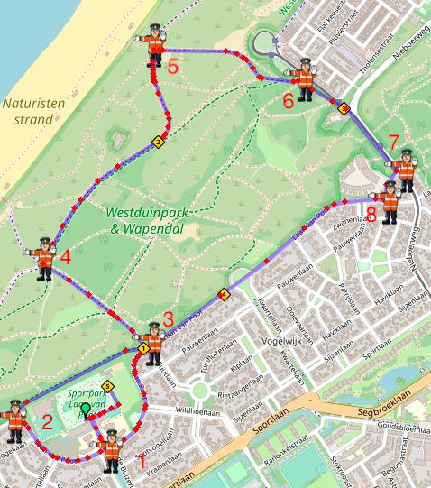 Parcours 5k Overtake Run